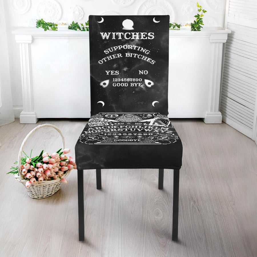 Ouija Witch Chair Slip Cover