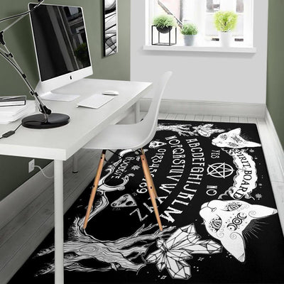 Ouija board Witch Area Rug Area Rug MoonChildWorld