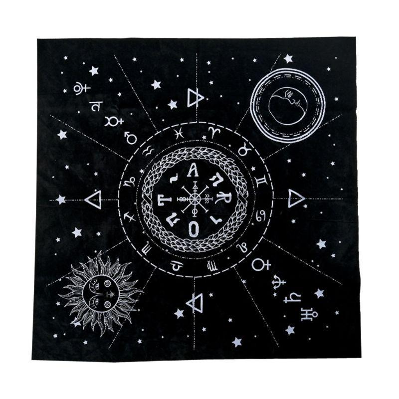 Tarot Tablecloth Twelve Constellations