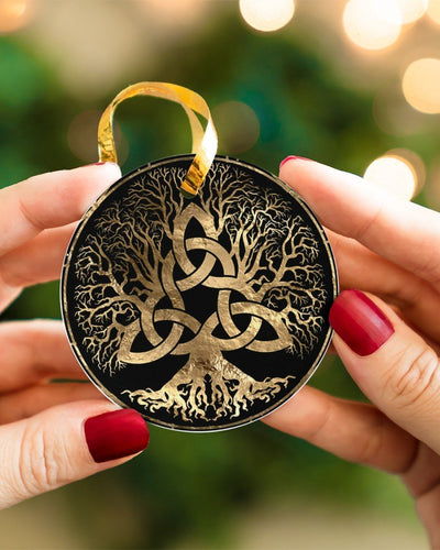 Celtic Tree Of Life Wicca Pagan Circle Ornament Housewares CustomCat
