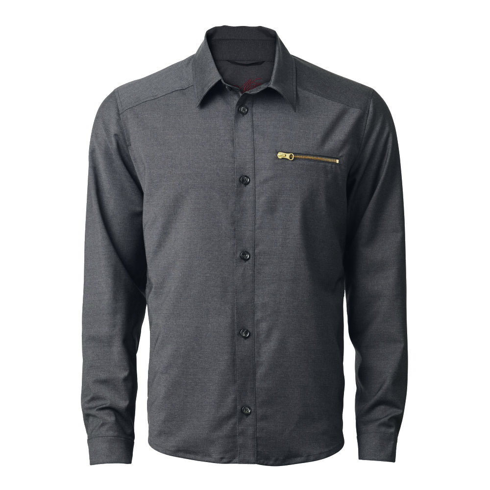 JON SUMMERWOOL OVERSHIRT Castel Rock Grey