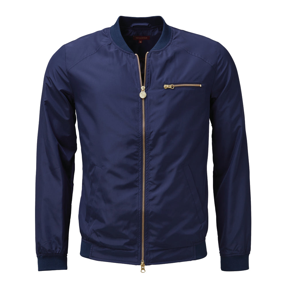 THE NdE ICONIC NYLON JACKET Navy
