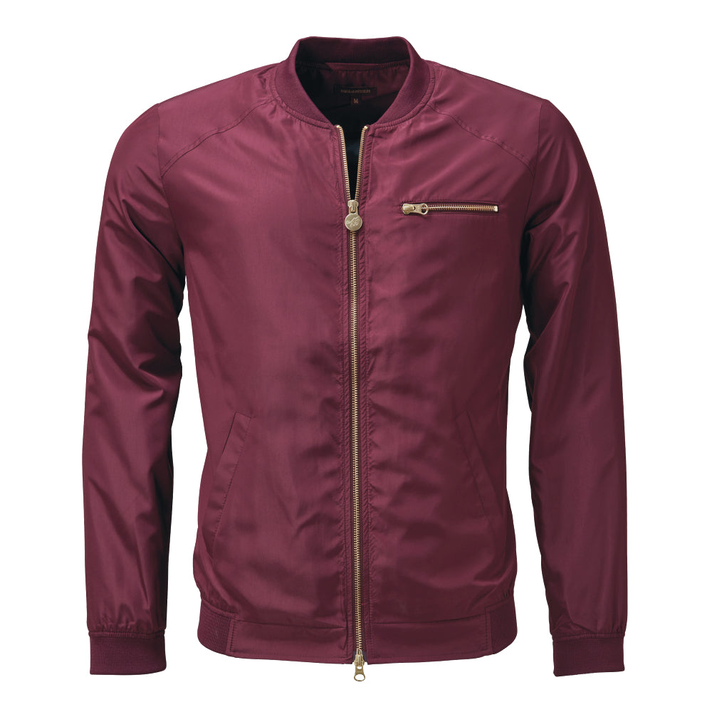 THE NdE ICONIC NYLON JACKET Port Royal