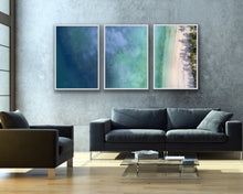 Load image into Gallery viewer, Beach Top View Wall Art