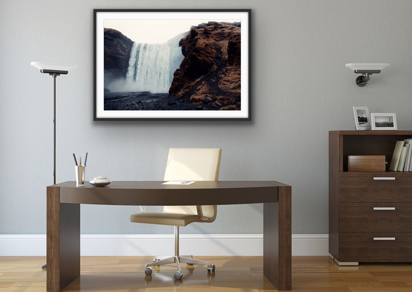 Waterfall Wall Art