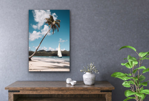 Beach Sail Boat Wall Art