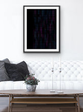 Load image into Gallery viewer, Falling Cubes Wall Art