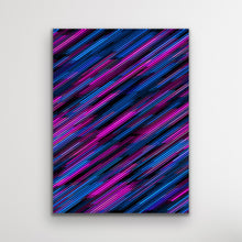 Load image into Gallery viewer, Abstract Diagonal Lines Wall Art