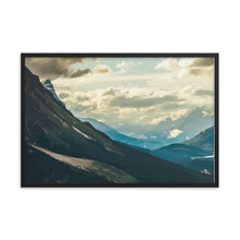 Load image into Gallery viewer, Mountain View Framed poster