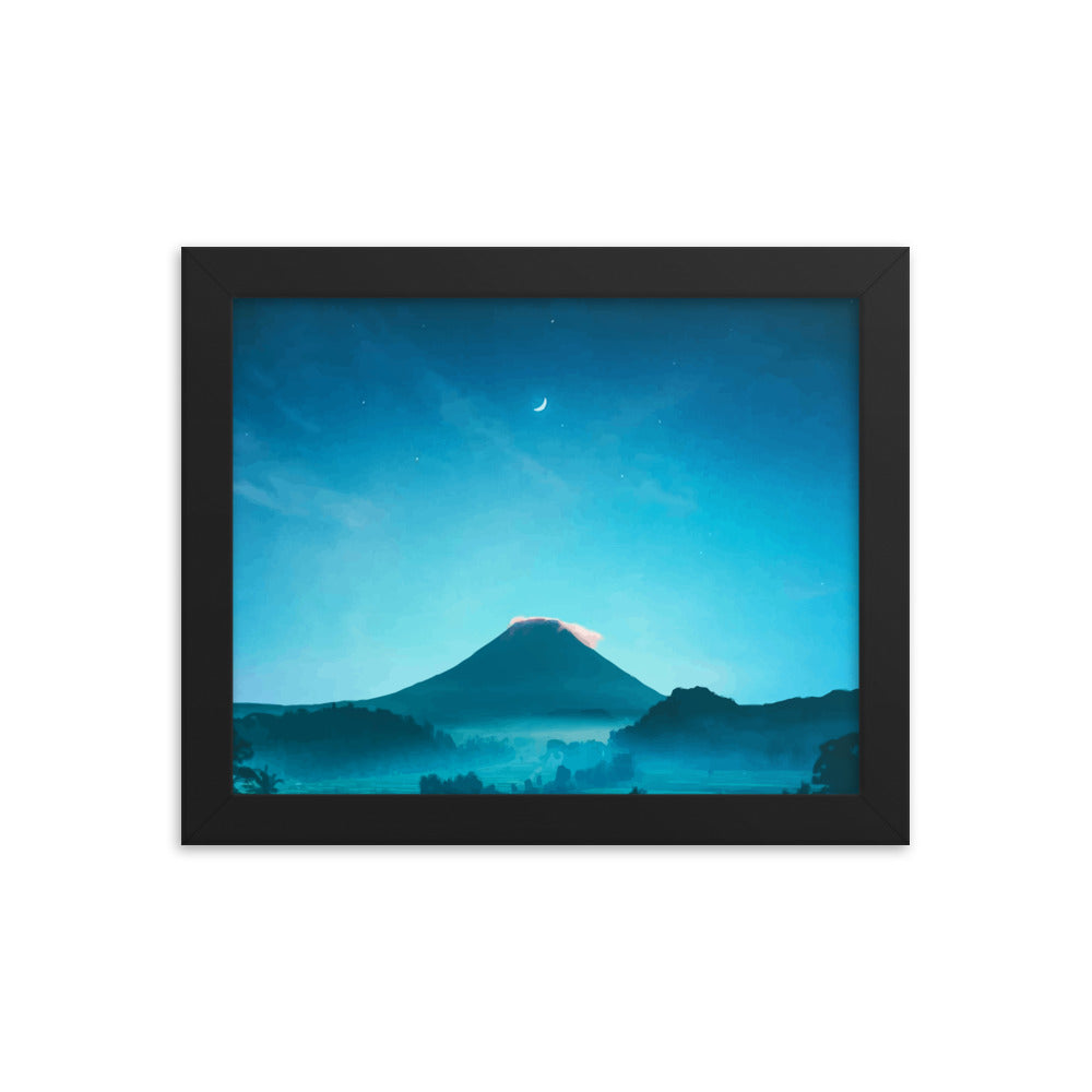 Mountain Escape Framed poster