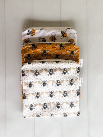 Bee Reusable Snack Bags | Zero waste Snack Bags