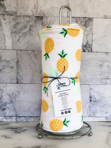 Reusable Paper Towel - Reusable cloth wipes | Pineapple Towels |