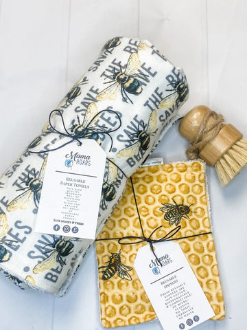 Clean Kitchen Reusable Bundle | Save the Bees Reusable Kitchen set
