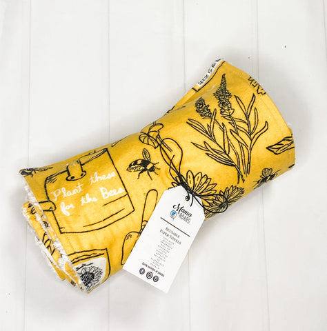 Honey Bee Reusable Paper Towels | Honey bee Paper Towels |