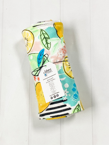 Lemon Lime Reusable Paper Towels | Lemon Cloth wipes