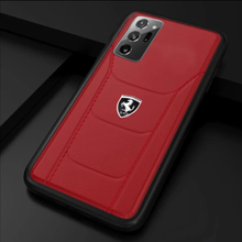 Load image into Gallery viewer, Ferrari  Galaxy Note 10 Genuine Leather Crafted Limited Edition Case