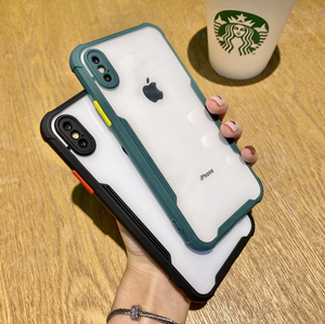 iPhone Shockproof Bumper Phone Case with Camera Protection
