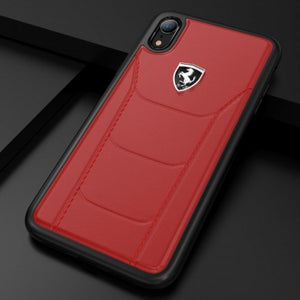 Ferrari iPhone 7/8 Plus Genuine Leather Crafted Limited Edition Case