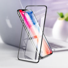 Load image into Gallery viewer, iPhone X Full Coverage Curved Tempered Glass