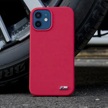 Load image into Gallery viewer, BMW iPhone 12 Motorsport Badge Silicone Case