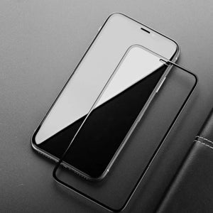 iPhone X Full Coverage Curved Tempered Glass