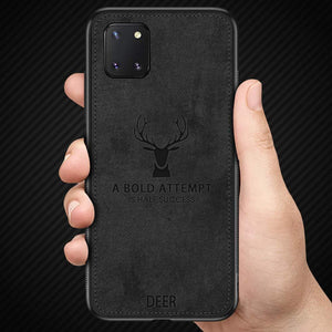 Galaxy Note 10 Lite Deer Print Soft Case