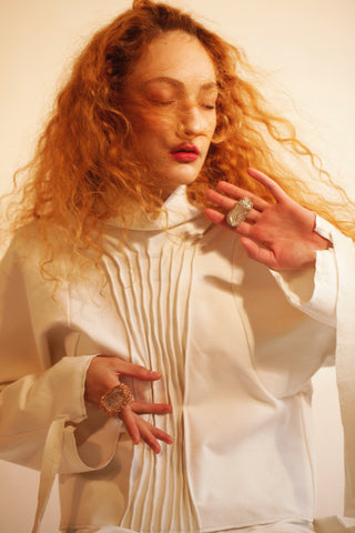Fashion Shoot Sara Mautone Silvia Macchioni Sheila Westera Crystal Rings