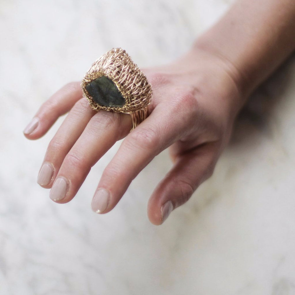 Come what may, Special ring by Sheila Westera.