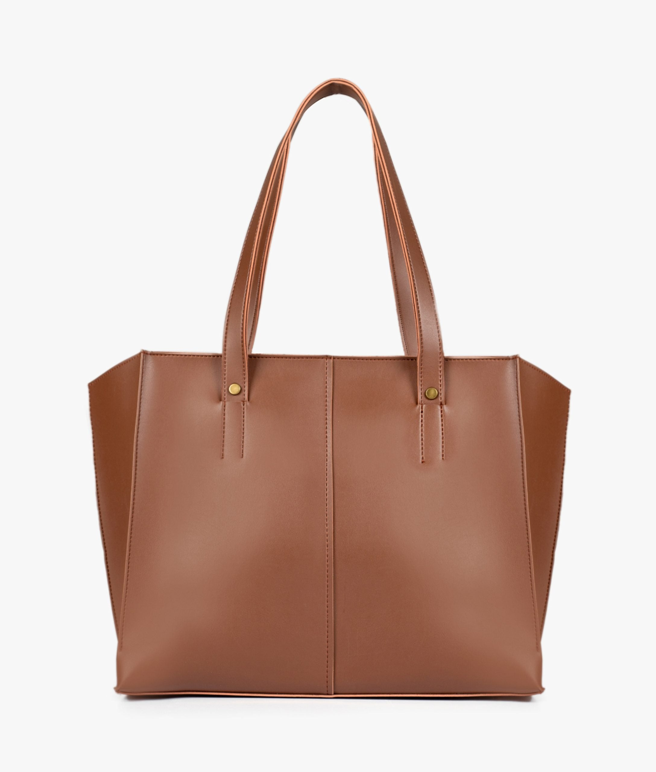 Horse brown over the shoulder tote bag