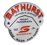 Fan Emblems Supercars Car Decal, Bathurst Heroes & Legends Logo (Lensed Chrome Finish)