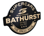Fan Emblems Supercars Car Decal, Bathurst Since 1963 Logo (Lensed Chrome Finish)