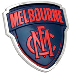 Fan Emblems Melbourne Demons 3D Chrome AFL Supporter Badge