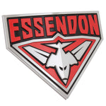 Fan Emblems Essendon Bombers 3D Chrome AFL Supporter Badge