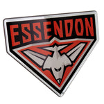 Fan Emblems Essendon Bombers Lensed Chrome AFL Supporter Logo