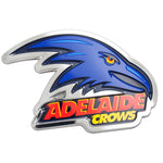Adelaide Crows AFL 3D Chrome Emblem - Cars, Laptops, Most Things