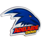 Fan Emblems Adelaide Crows Lensed Chrome AFL Supporter Logo