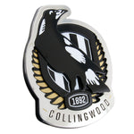 Fan Emblems Collingwood Magpies 3D Chrome AFL Supporter Badge