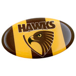 Fan Emblems Hawthorn Hawks Lensed AFL Team Supporter Logo