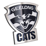 Fan Emblems Geelong Cats 3D Chrome AFL Supporter Badge