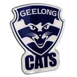 Fan Emblems Geelong Cats Lensed Chrome AFL Supporter Logo