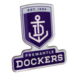 Fan Emblems Fremantle Dockers Lensed Chrome AFL Supporter Logo