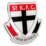 St. Kilda Saints AFL Lensed Chrome Decal - Cars, Laptops, Most Things