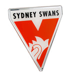 Sydney Swans Lensed Chrome Supporter Logo