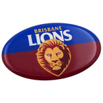 Fan Emblems Brisbane Lions Lensed AFL Team Supporter Logo