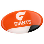 Greater Western Sydney Giants AFL Lensed Team Decal - Cars, Laptops, Most Things