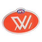 AFLW Lensed Chrome Supporter Logo