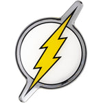 Fan Emblems The Flash Domed Chrome Car Decal - Classic Logo