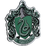 Fan Emblems Harry Potter Domed Chrome Car Decal - Slytherin Crest