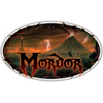 Fan Emblems  LOTR Mordor Domed Transparent Car Decal - Lord of the Rings Logo