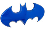 Fan Emblems Batman 3D Car Badge - 1989 Batwing Logo (Blue Chrome)